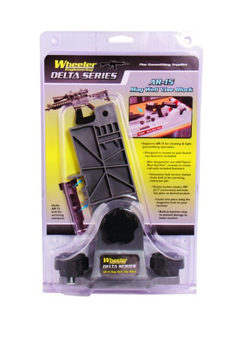 Wheeler Delta Series AR-15 Mag Well Vise Block