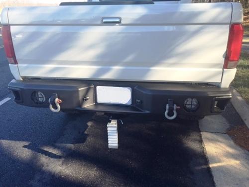 95 ford f250 rear bumper