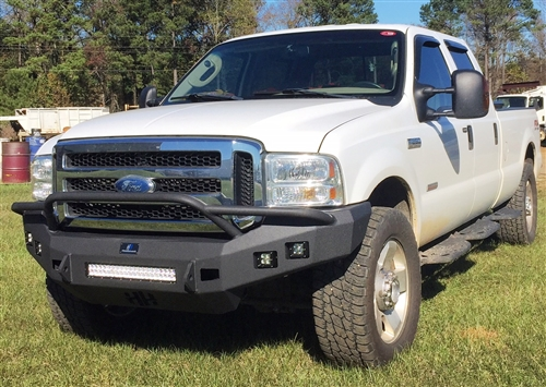 2006 Ford F250 Front Bumper >> Hammerhead Ford F250 550 Low Profile Pre Runner 2005 2007