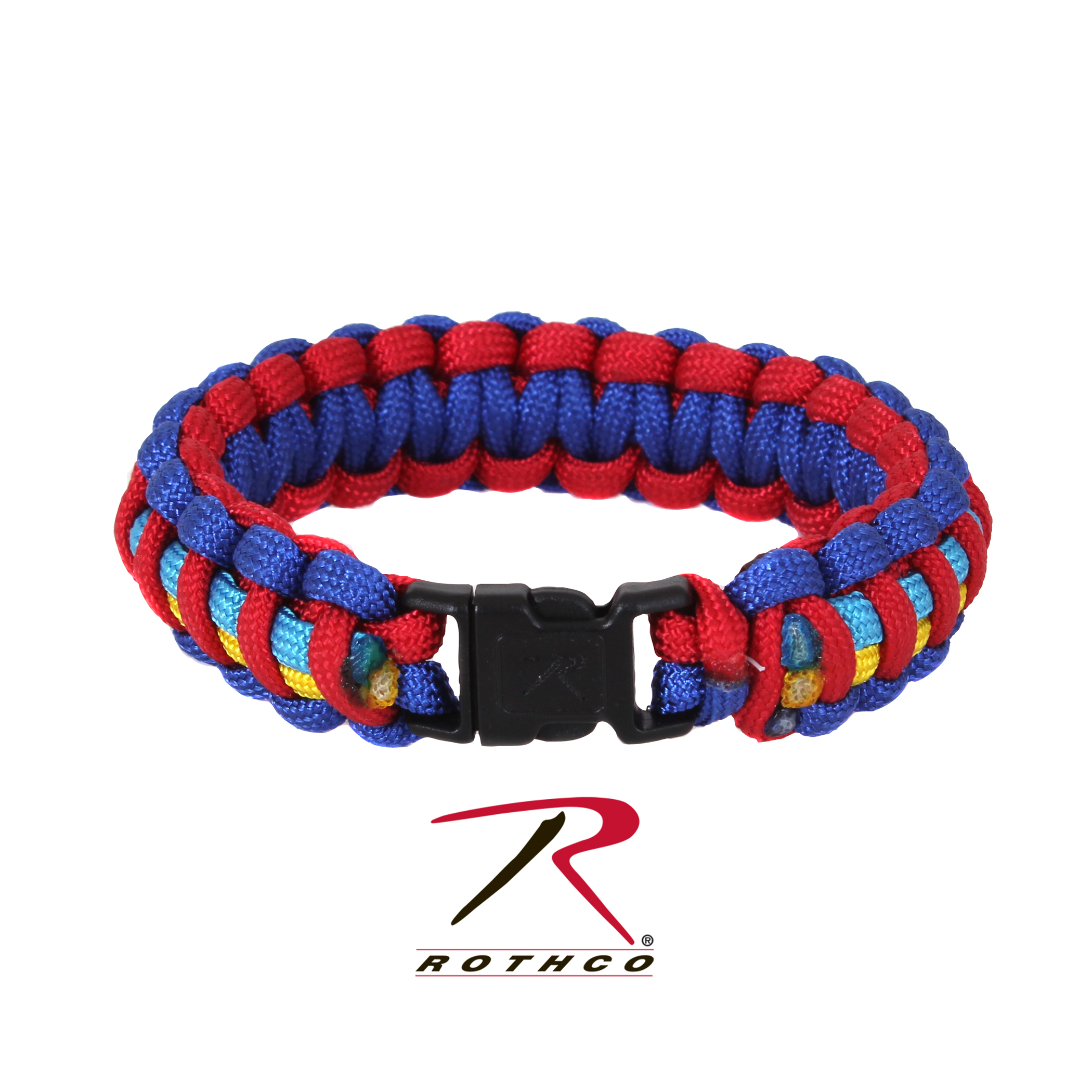 Rothco Autism Awareness Paracord Bracelet 7 Inches