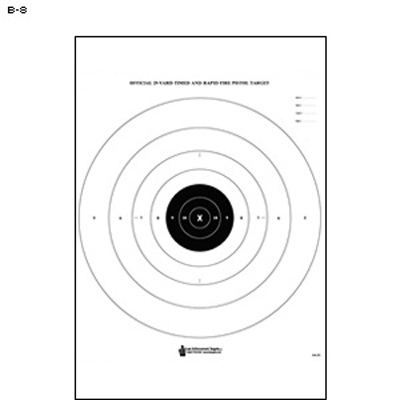 graphic relating to Nra B-8 Target Printable identify Legislation Enforcement B-8 25-Garden Timed and Speedy Hearth Emphasis