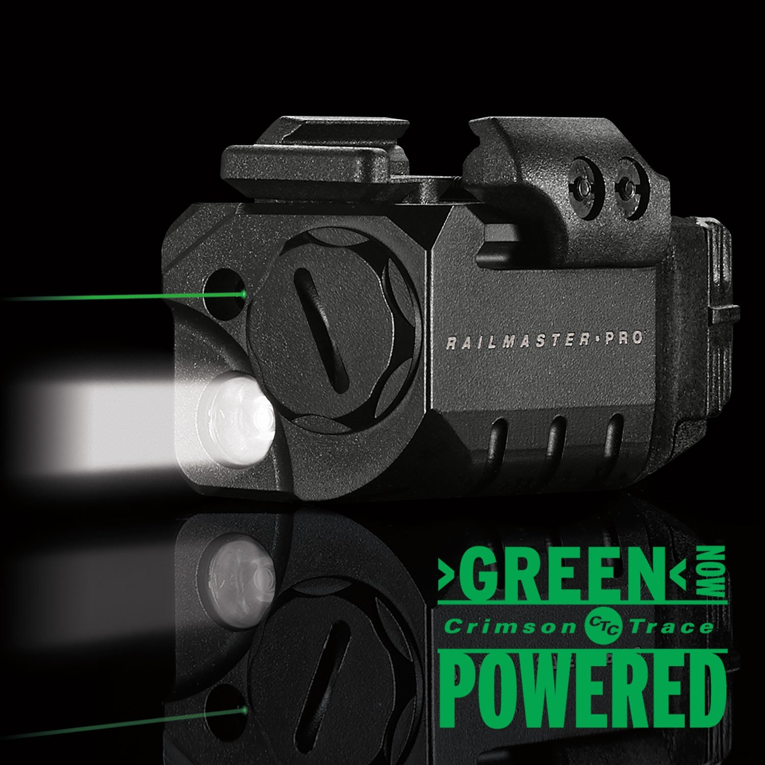 CMR Rail Master Pro Universal Green Laser Sight & Tactical Light