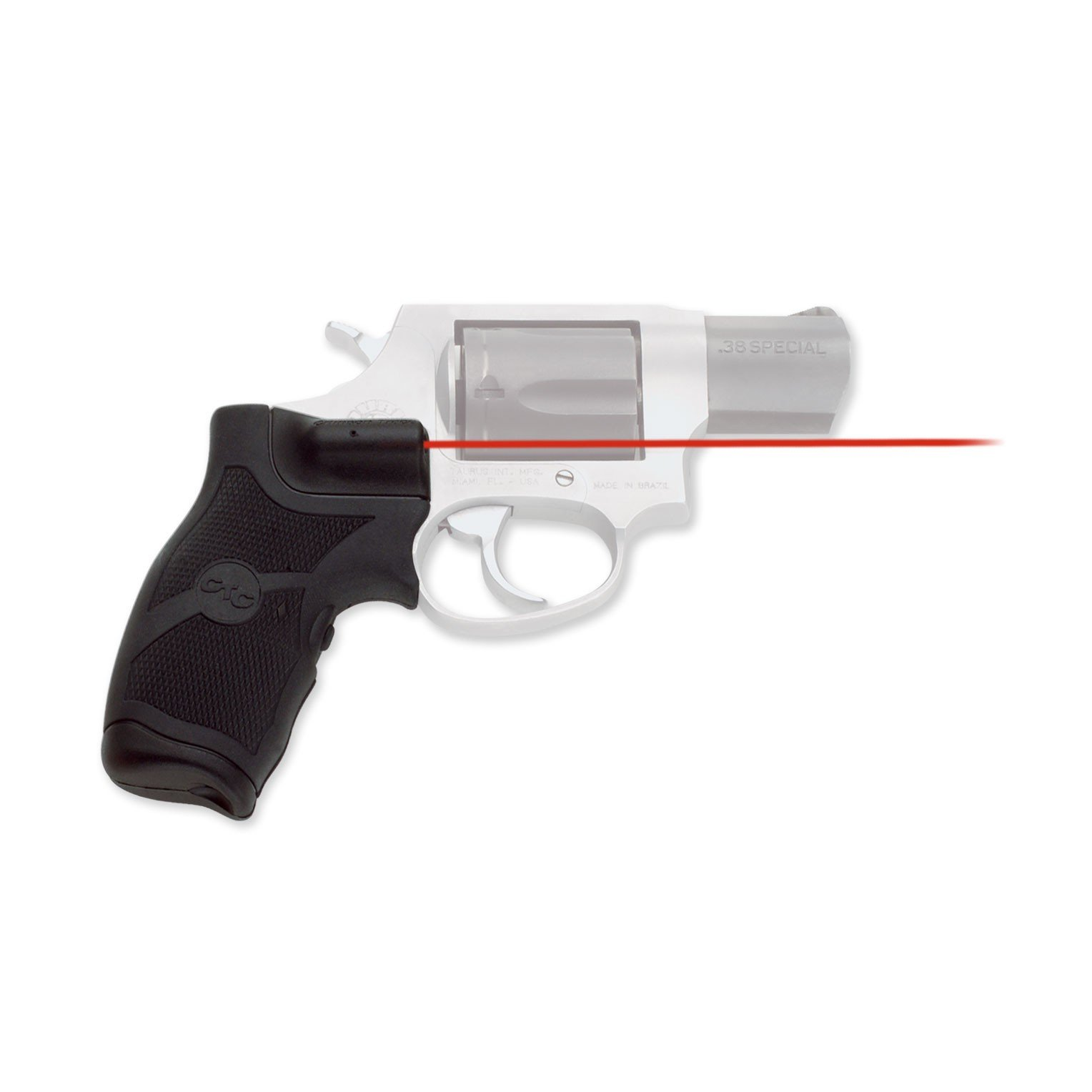 CMR Lasergrips for Taurus Revolvers (Rubber Overmold)