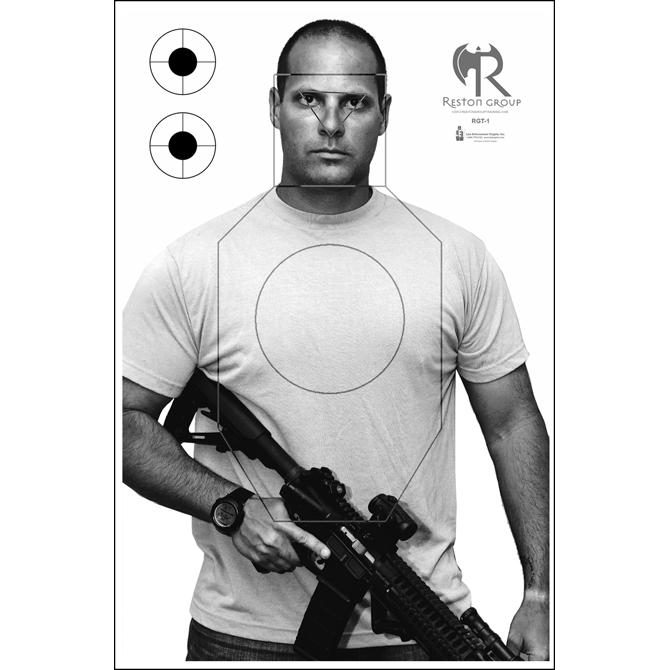 Law Enforcement Reston Group Tactical Training Target
