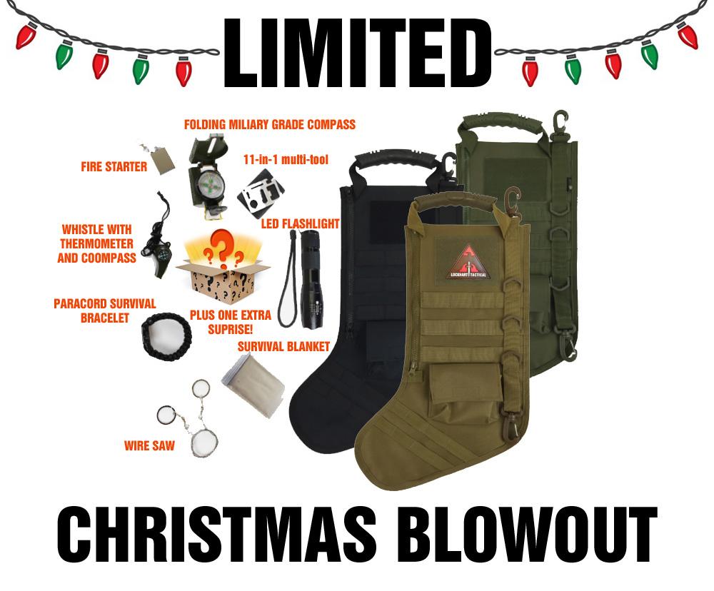 Tactical Christmas Stocking Stuffed.Lockhart Tactical Pre Stuffed Tactical Christmas Stocking 52 Off