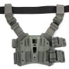 Blackhawk Tactical Holster Platform Pistol Thigh Rig