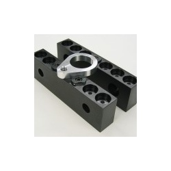 Mitee-Bite Vise Jaw 4 Clamp Set with Mounting Holes