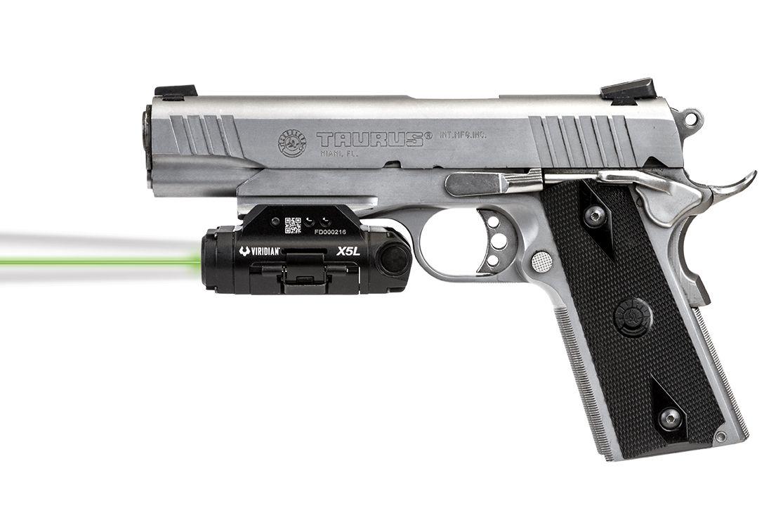 Viridian X5L Gen 3 Green Laser Sight + Tactical Light